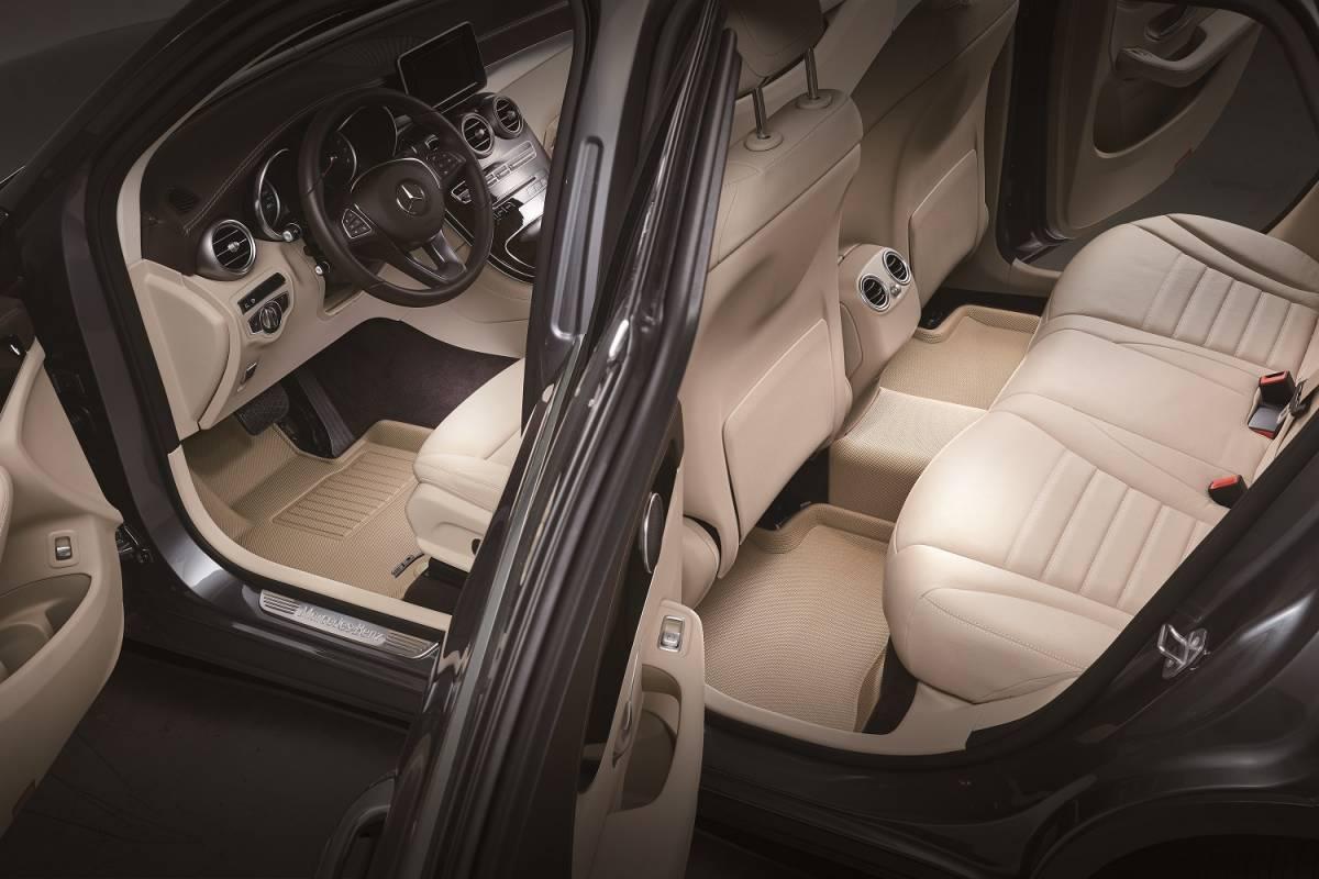 Kagu Series 3D MAXpider Chevrolet Colorado Crew Cab 2015-2020 Custom Fit All-Weather Car Floor Mats Liners 1st /& 2nd Row, Black