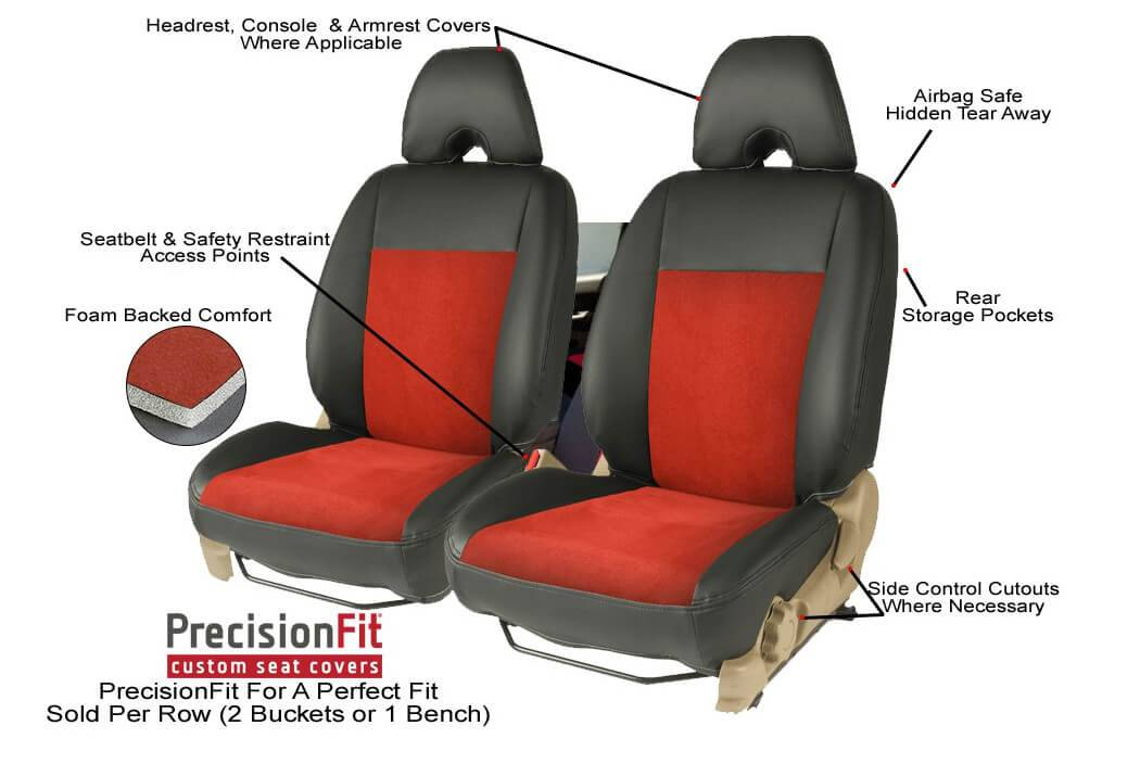 Precision Fit Seat Covers by CoverCraft