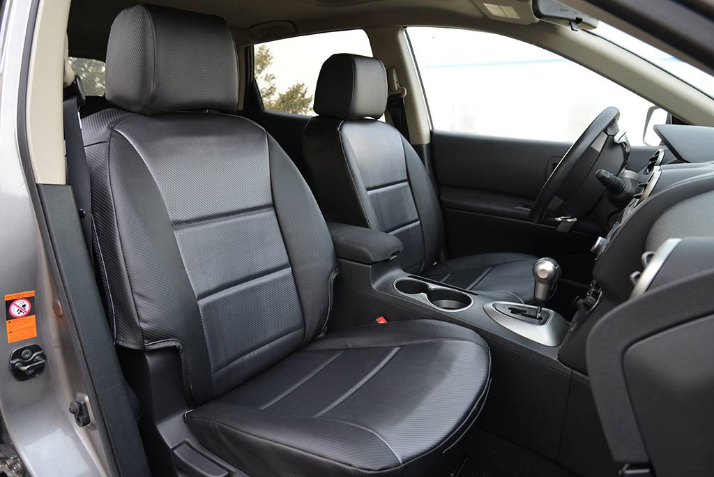 RuffTuff's sophisticated Carbon Fiber vinyl is perfect for modern high-tech vehicle interiors