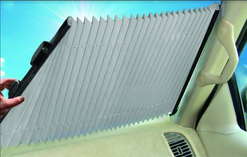 Sun Shades - Windshield - Retractable