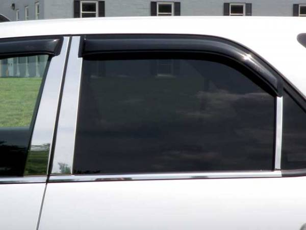 QAA - Acura MDX 2001-2006, 4-door, SUV (6 piece Stainless Steel Pillar Post Trim ) PP21298 QAA