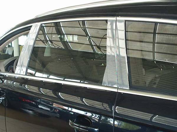 QAA - Audi Q7 2007-2015, 4-door, SUV (10 piece Stainless Steel Pillar Post Trim ) PP27615 QAA