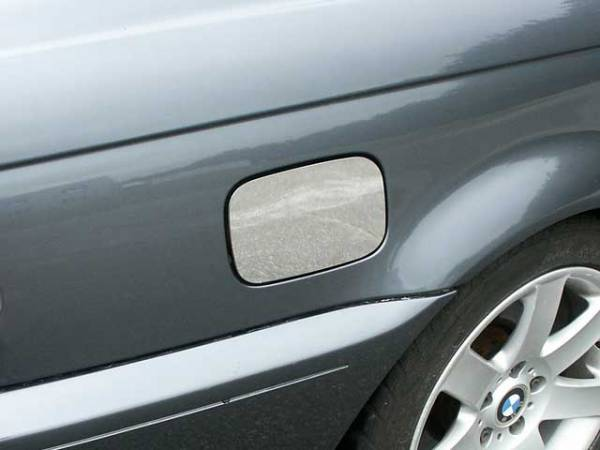QAA - BMW 3 Series 2001-2005, 2-door, 325Ci Coupe (1 piece Stainless Steel Gas Door Cover Trim Warning: This is NOT a replacement cap. You MUST have existing gas door to install this piece ) GC25900 QAA