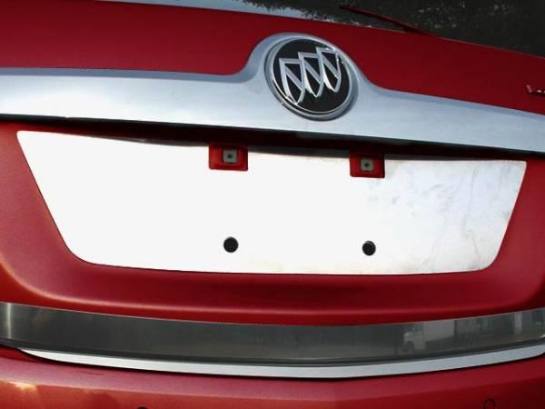 QAA - Buick LaCrosse 2010-2013, 4-door, Sedan (1 piece Stainless Steel License Plate Bezel ) LP50520 QAA