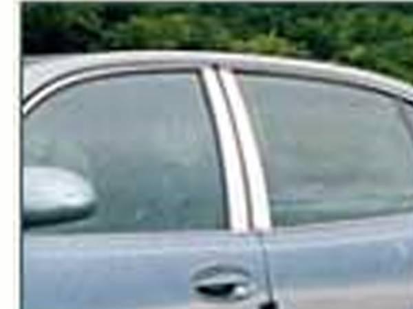 QAA - Buick LeSabre 2000-2005, 4-door, Sedan (4 piece Stainless Steel Pillar Post Trim ) PP40565 QAA