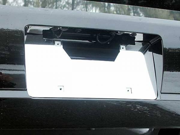 QAA - Buick Lucerne 2006-2011, 4-door, Sedan (1 piece Stainless Steel License Plate Bezel ) LP46550 QAA