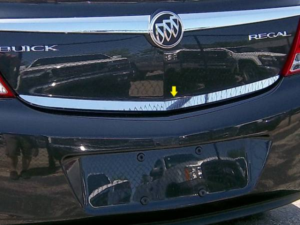 "QAA - Buick Regal 2011-2013, 4-door, Sedan (1 piece Stainless Steel Rear Deck Trim, Trunk Lid Accent 1"" Width ) RD51575 QAA"