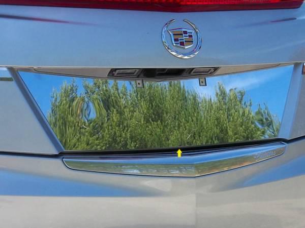 QAA - Cadillac ATS 2013-2018, 4-door, Sedan (1 piece Stainless Steel License Plate Bezel ) LP53235 QAA
