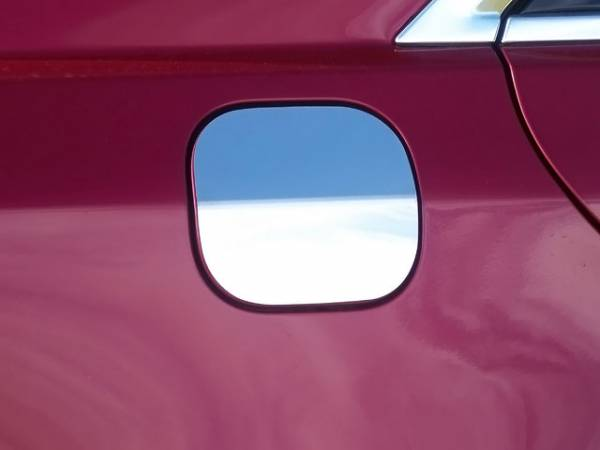 QAA - Cadillac CTS 2014-2019, 4-door, Sedan (1 piece Stainless Steel Gas Door Cover Trim Warning: This is NOT a replacement cap. You MUST have existing gas door to install this piece ) GC54250 QAA