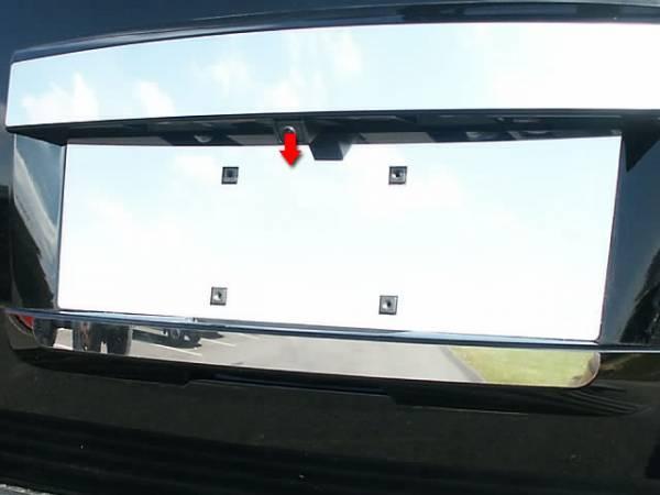 QAA - Cadillac Escalade 2007-2014, 4-door, SUV (1 piece Stainless Steel License Plate Bezel ) LP47195 QAA