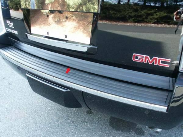 "QAA - Cadillac Escalade 2007-2014, 4-door, SUV (1 piece Stainless Steel Rear Deck Trim, Trunk Lid Accent 3.5"" Width ) RD47195 QAA"