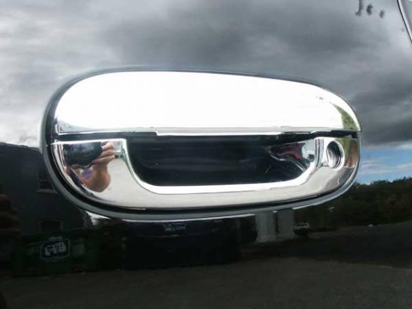 QAA - Cadillac DeVille 2000-2005, 4-door, Sedan (8 piece Chrome Plated ABS plastic Door Handle Cover Kit ) DH40245 QAA