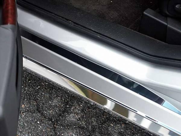 QAA - Cadillac SRX 2004-2009, 4-door, SUV (4 piece Stainless Steel Door Sill trim ) DS44260 QAA