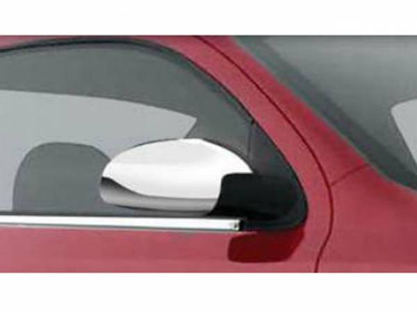 QAA - Chevrolet Cobalt 2005-2010, 4-door, Sedan (2 piece Chrome Plated ABS plastic Mirror Cover Set ) MC48120 QAA