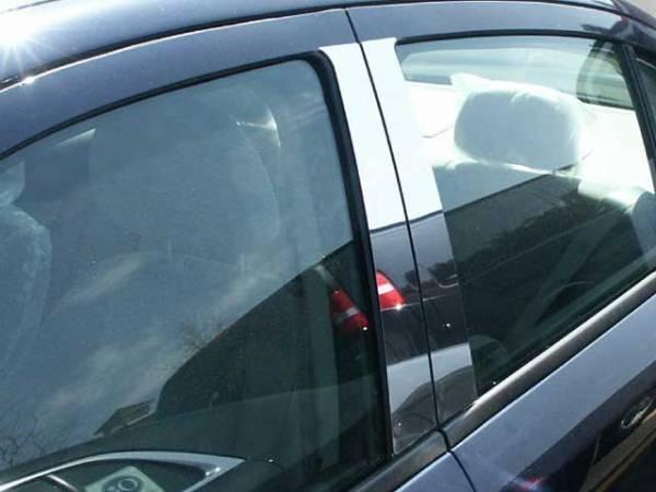 QAA - Chevrolet Cobalt 2005-2010, 4-door, Sedan (4 piece Stainless Steel Pillar Post Trim ) PP48120 QAA