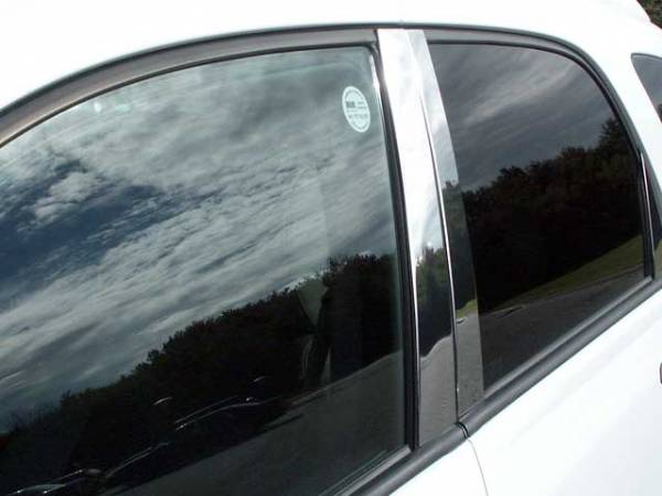 QAA - Chevrolet Equinox 2005-2009, 4-door, SUV (4 piece Stainless Steel Pillar Post Trim ) PP45160 QAA