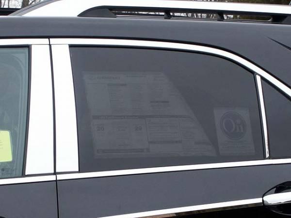 QAA - Chevrolet Equinox 2010-2017, 4-door, SUV (6 piece Stainless Steel Pillar Post Trim ) PP50161 QAA