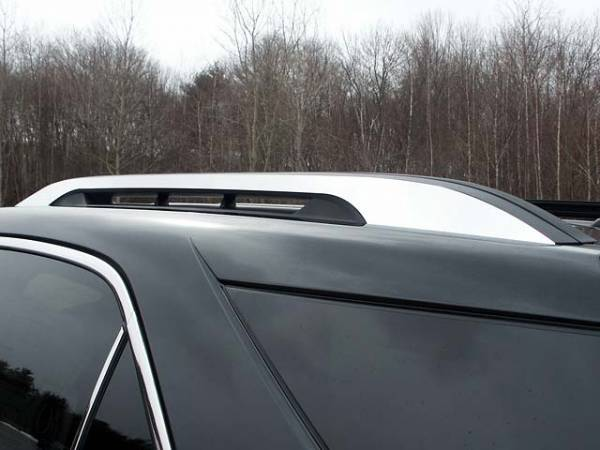 QAA - Chevrolet Equinox 2010-2017, 4-door, SUV (2 piece Stainless Steel Roof Rack Trim Note: USE ADHESIVE PRIMER.This item adheres to the existing factory Roof Rack.You must have the factory Roof Rack to use this item.) RR50160 QAA