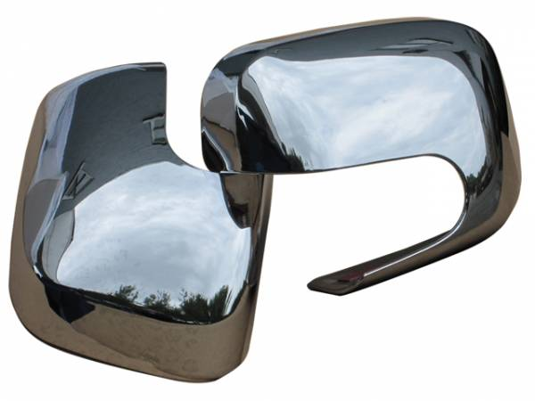 QAA - Chevrolet HHR 2006-2011, 4-door, Wagon (2 piece Chrome Plated ABS plastic Mirror Cover Set ) MC46140 QAA