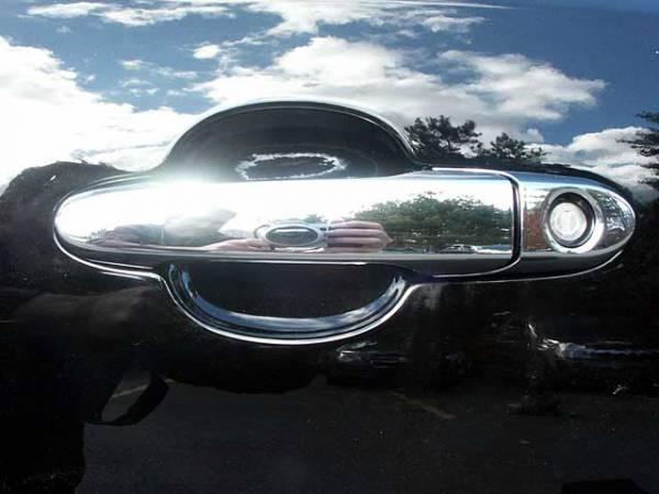 QAA - Chevrolet Impala 2006-2013, 4-door, Sedan (8 piece Chrome Plated ABS plastic Door Handle Cover Kit Does NOT include passenger key access ) DH46135 QAA