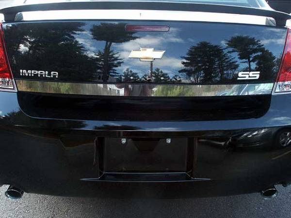 "QAA - Chevrolet Impala - Limited 2014-2016, 4-door, Sedan, Limited (1 piece Stainless Steel Rear Deck Trim, Trunk Lid Accent 2"" Width ) RD46135 QAA"