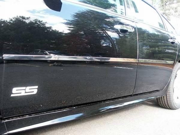 "QAA - Chevrolet Impala - Limited 2014-2016, 4-door, Sedan, Limited (4 piece Stainless Steel Rocker Panel Trim, Insert Kit 1.67"" Width Side Molding.) TH46136 QAA"