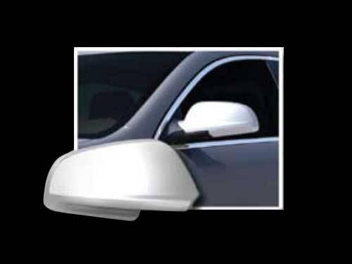 QAA - Chevrolet Malibu 2008-2012, 4-door, Sedan (2 piece Chrome Plated ABS plastic Mirror Cover Set ) MC48105 QAA