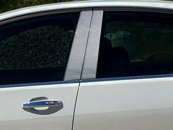 QAA - Chevrolet SS 2014-2018, 4-door, Sedan (4 piece Stainless Steel Pillar Post Trim ) PP54150 QAA