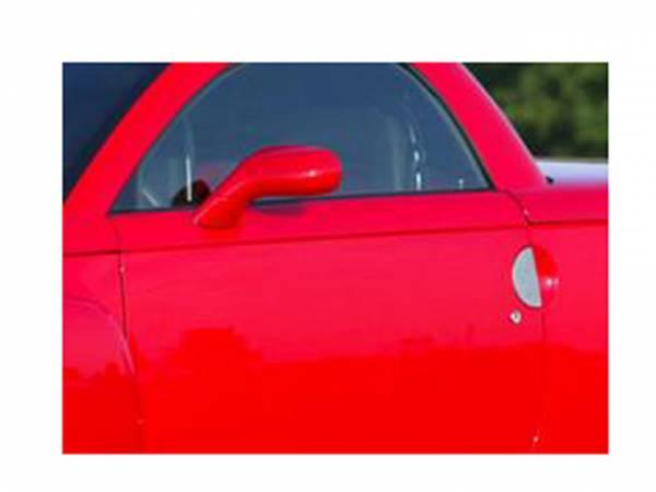 QAA - Chevrolet SSR 2003-2006, 2-door, Truck (2 piece Stainless Steel Door Handle Accent Trim Super Sport Roadster.) DH43188 QAA