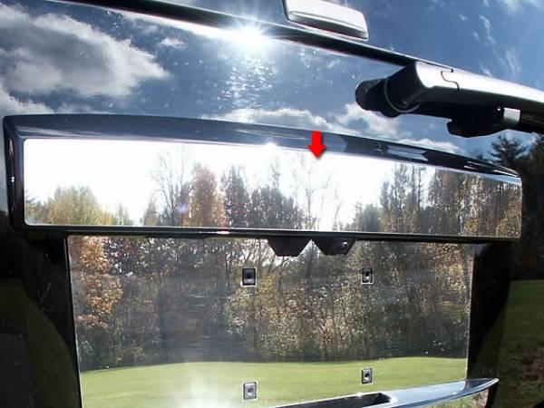 QAA - Chevrolet Tahoe 2007-2014, 4-door, SUV (1 piece Stainless Steel License Bar, Above plate accent Trim ) LB47295 QAA