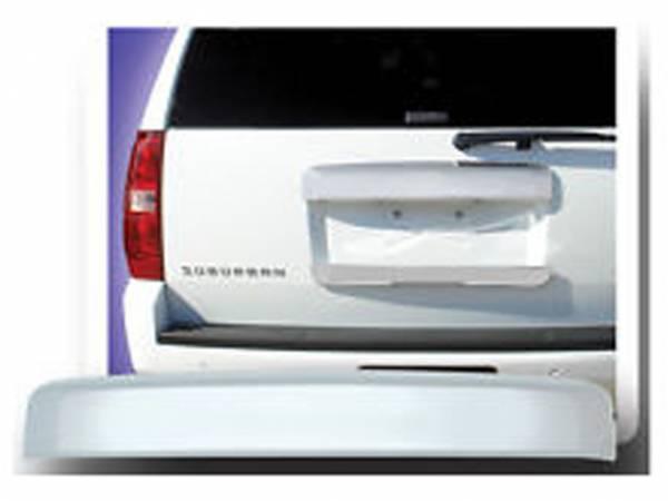 QAA - Chevrolet Tahoe 2007-2014, 4-door, SUV (1 piece Chrome Plated ABS plastic License Bar, Above plate accent Trim Full Face ) LBP47195 QAA