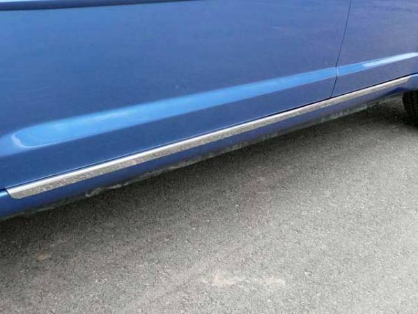 """QAA - Chrysler 200 2011-2014, 4-door, Sedan (2 piece Stainless Steel Rocker Panel Trim, On the rocker 1.25"""" Width Installs below the door.) TH47780 QAA"""