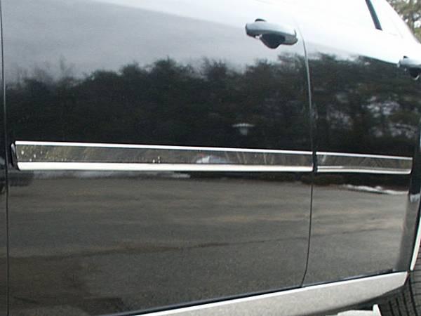 "QAA - Chrysler 300 2005-2010, 4-door, Sedan, Base Model ONLY (4 piece Stainless Steel Rocker Panel Trim, Insert Kit 1.438"" Width Side Molding.) TH45762 QAA"