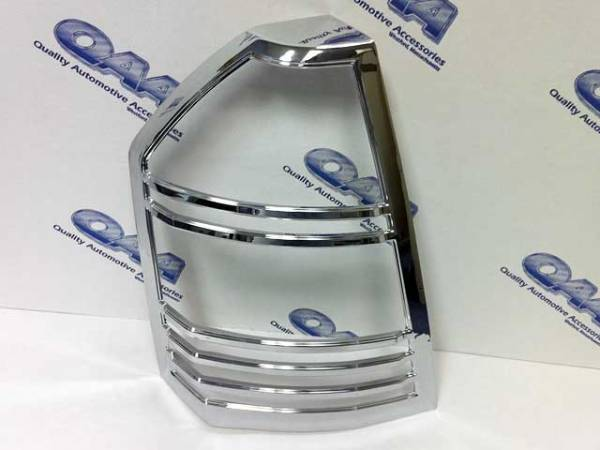 QAA - Chrysler 300 2008-2010, 4-door, Sedan (2 piece Chrome Plated ABS plastic Tail Light Bezels ) TL48765 QAA