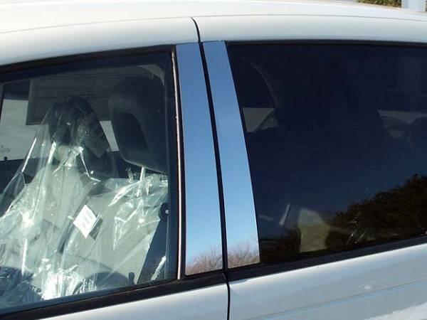 QAA - Chrysler PT Cruiser 2001-2002, 4-door, Hatchback (4 piece Stainless Steel Pillar Post Trim ) PP41700 QAA