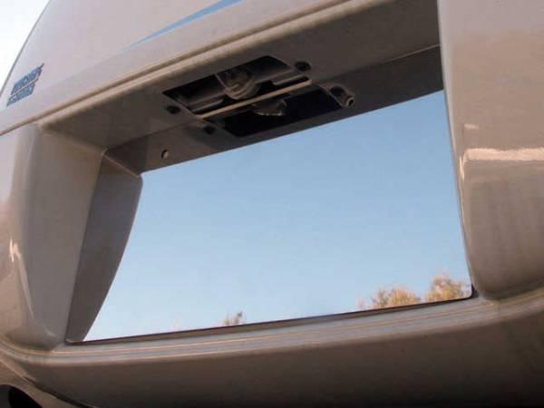 QAA - Chrysler PT Cruiser 2001-2010, 4-door, Hatchback (1 piece Stainless Steel License Plate Bezel ) LP41700 QAA