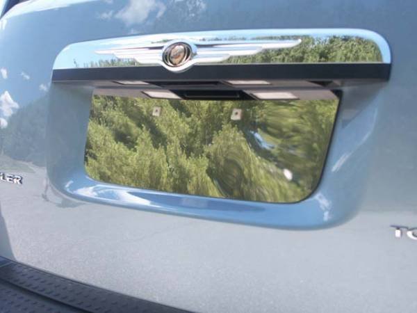 QAA - Chrysler Town & Country 2008-2016, 4-door, Minivan (1 piece Stainless Steel License Plate Bezel ) LP48895 QAA