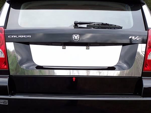 QAA - Dodge Caliber 2007-2012, 4-door, Hatchback (1 piece Stainless Steel License Plate Surround Trim ) LPS47950 QAA