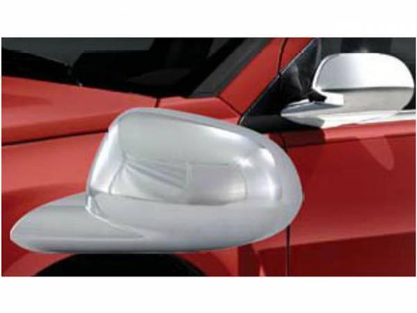 QAA - Dodge Caliber 2007-2012, 4-door, Hatchback (2 piece Chrome Plated ABS plastic Mirror Cover Set ) MC47950 QAA