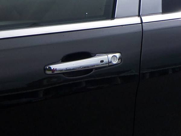 QAA - Dodge Caliber 2011-2012, 4-door, Hatchback (8 piece Chrome Plated ABS plastic Door Handle Cover Kit Includes smart key access ) DH51081 QAA