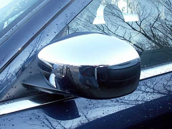 QAA - Dodge Charger 2006-2010, 4-door, Sedan (2 piece Chrome Plated ABS plastic Mirror Cover Set For painted mirror ) MC45760 QAA