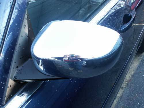 QAA - Dodge Charger 2006-2010, 4-door, Sedan (2 piece Chrome Plated ABS plastic Mirror Cover Set For non-painted mirror ) MC45765 QAA