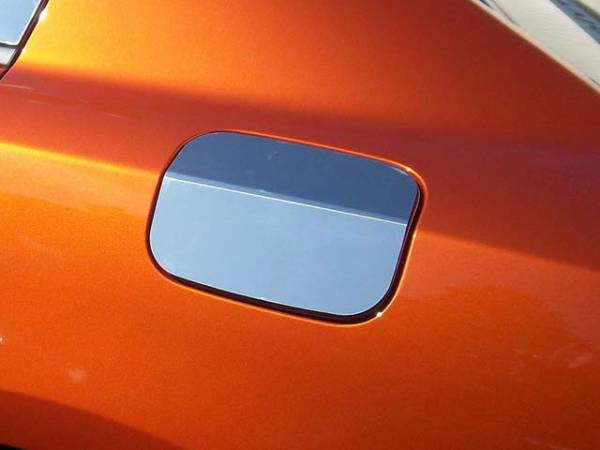QAA - Dodge Charger 2011-2020, 4-door, Sedan (1 piece Stainless Steel Gas Door Cover Trim Warning: This is NOT a replacement cap. You MUST have existing gas door to install this piece ) GC51910 QAA