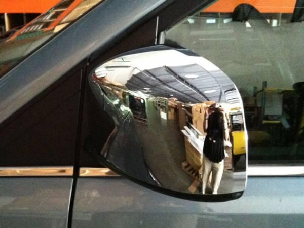 QAA - Dodge Grand Caravan 2008-2020, 4-door, Minivan (2 piece Chrome Plated ABS plastic Mirror Cover Set ) MC48895 QAA