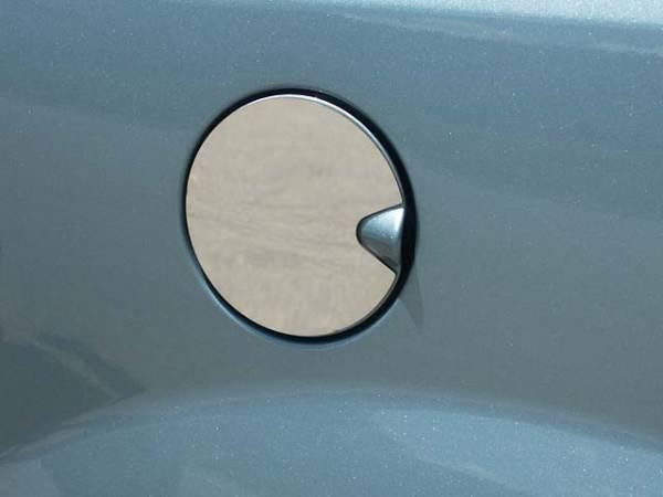 QAA - Dodge Grand Caravan 2008-2020, 4-door, Minivan (1 piece Stainless Steel Gas Door Cover Trim Warning: This is NOT a replacement cap. You MUST have existing gas door to install this piece ) GC48895 QAA