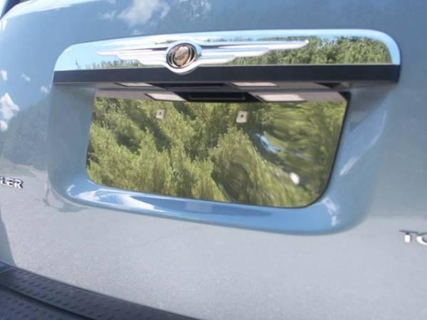 QAA - Dodge Grand Caravan 2008-2020, 4-door, Minivan (1 piece Stainless Steel License Plate Bezel ) LP48895 QAA