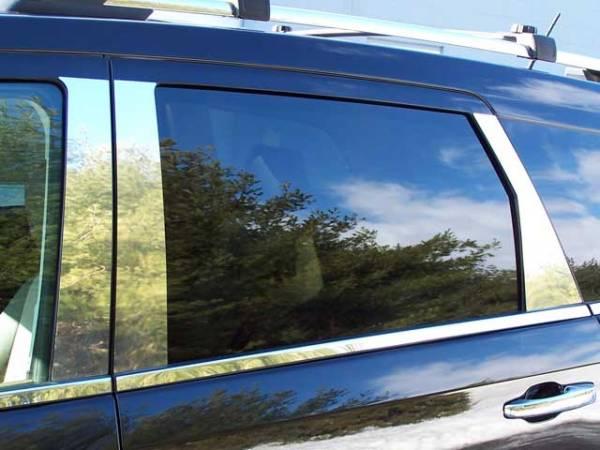 QAA - Dodge Journey 2009-2020, 4-door, SUV (6 piece Stainless Steel Pillar Post Trim ) PP49946 QAA