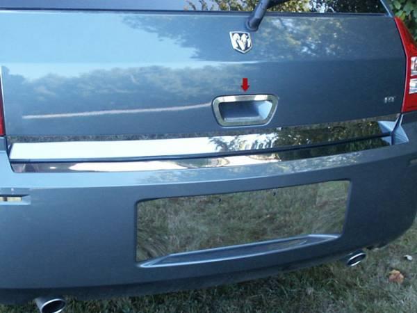 QAA - Dodge Magnum 2005-2008, 4-door, Wagon (1 piece Stainless Steel Tailgate Handle Accent Trim Ring ) DH45920 QAA