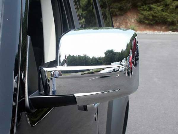 QAA - Dodge Nitro 2007-2011, 4-door, SUV (2 piece Chrome Plated ABS plastic Mirror Cover Set ) MC47940 QAA