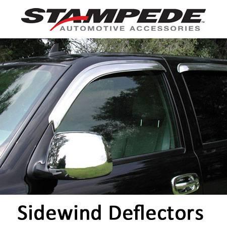Stampede - Sidewind Deflectors - Chrome